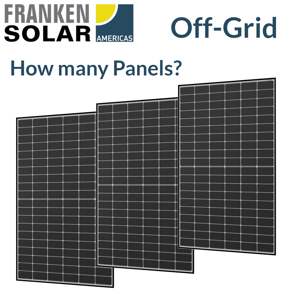 Off-Grid Solar PV Sizing